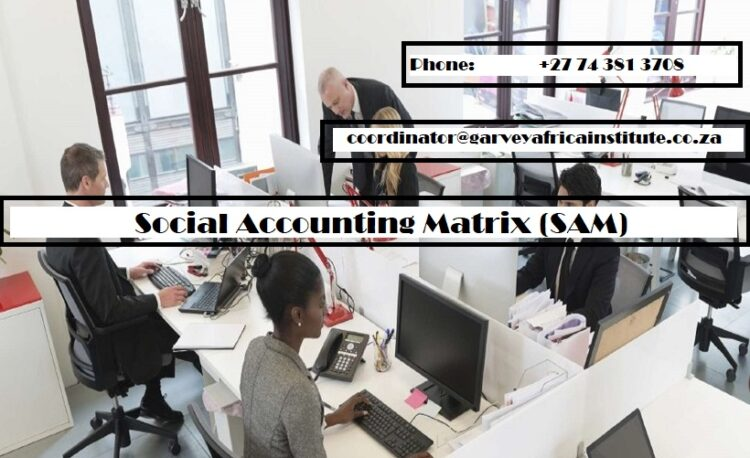 Social Accounting Matrix (SAM)-short-course-south-africa