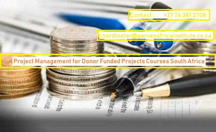 Project Management for Donor Funded Projects Course South Africa
